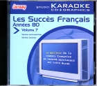 CD(G) KARAOKE LANSAY STAR MACHINE VOL. 07 ''Années 80''