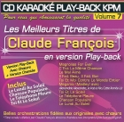 CD KARAOKE PLAY-BACK KPM VOL. 07 ''Claude François''