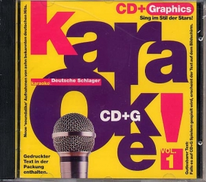 CD(G) PLAY BACK DEUTSCHE SCHLAGER VOL.01 (livret paroles inclus)