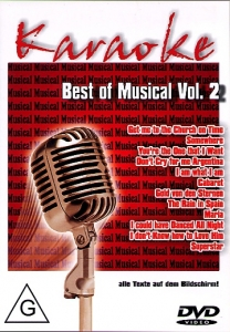 DVD BEST OF MUSICAL VOL. 02 ''Comédies Musicales Internationales''
