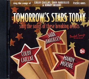 CDG POCKET SONGS ''Colbie Caillat, Sara Bareilles & Mandy Moore'' (Livret Paroles Inclus)