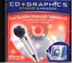 CD(G) KARAOKE LANSAY LES SUCCES FRANCAIS VOL. 10