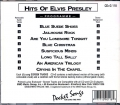 CD(G) PLAY BACK POCKET SONGS HITS OF ELVIS PRESLEY (livret paroles inclus)