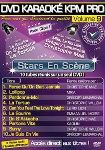 DVD KARAOKE KPM PRO VOL. 09 ''Stars En Scène'' (All)