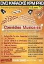 DVD KARAOKE KPM PRO VOL. 10 ''Comédies Musicales'' (All)