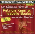 CD KARAOKE PLAY-BACK KPM VOL. 16 ''Patricia Kaas & Isabelle Boulay''