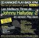 CD KARAOKE PLAY-BACK KPM VOL. 18 ''Johnny Hallyday Vol. 02''