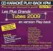 CD KARAOKE PLAY-BACK KPM VOL. 14 ''Tubes 2009''