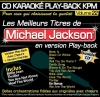 CD KARAOKE PLAY-BACK KPM VOL. 22 ''Michael Jackson''