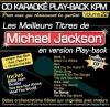 CD KARAOKE PLAY-BACK KPM VOL. 22 ''Michael Jackson''