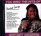 CD(G) PLAY BACK POCKET SONGS HITS OF WHITNEY HOUSTON VOL.01 (livret paroles inclus)