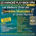 CD KARAOKE PLAY-BACK KPM VOL. 19 ''Comédies Musicales - 2''