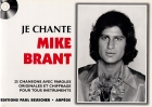 LIVRET PAROLES JE CHANTE MIKE BRANT (avec accords)