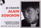 LIVRET PAROLES JE CHANTE ALAIN SOUCHON (avec accords)