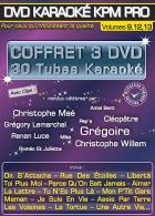 COFFRET 3 DVD KARAOKE KPM PRO ''Stars En Scène 1, 2 & 3'' (All)